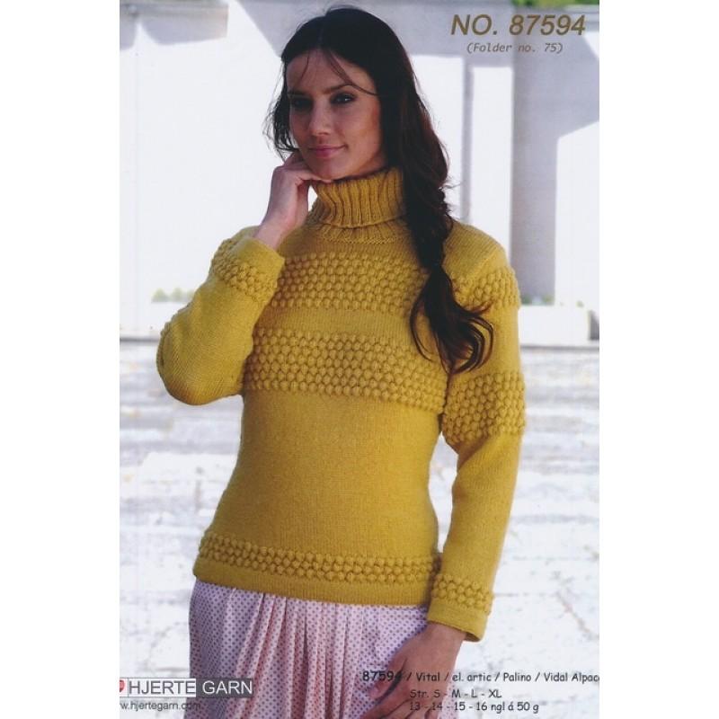 87594 Klassisk Sømandssweater
