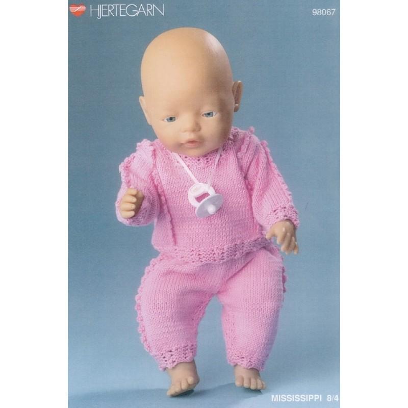 98067 Dukketøj Babyborn bukser og bluse-32