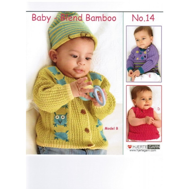 Hæfte baby no. 14 Blend Bamboo-31