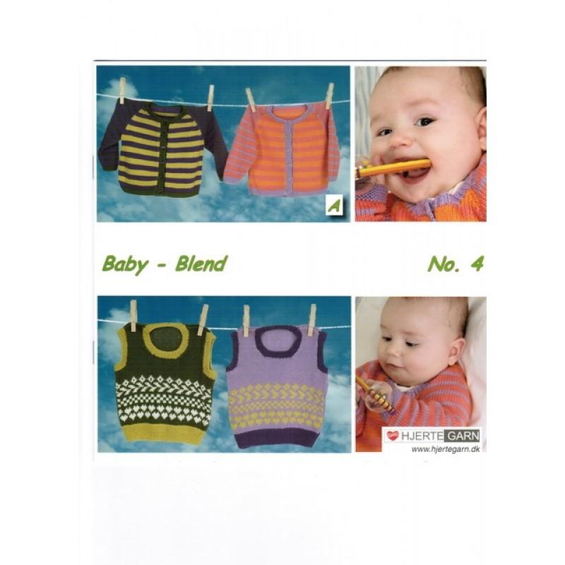 Hæfte baby no. 4 Blend/Blend Bamboo