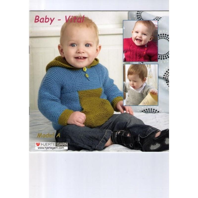 Hæfte baby no. 12 Baby Vital-31