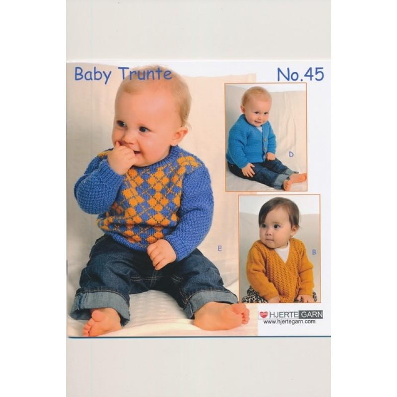 Hæfte baby no. 45 Trunte