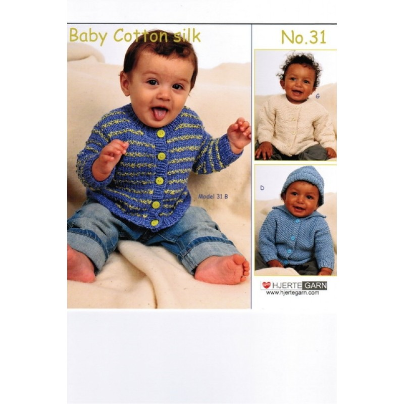 Hæfte Baby no. 31 Cotton Silk/Soon-31