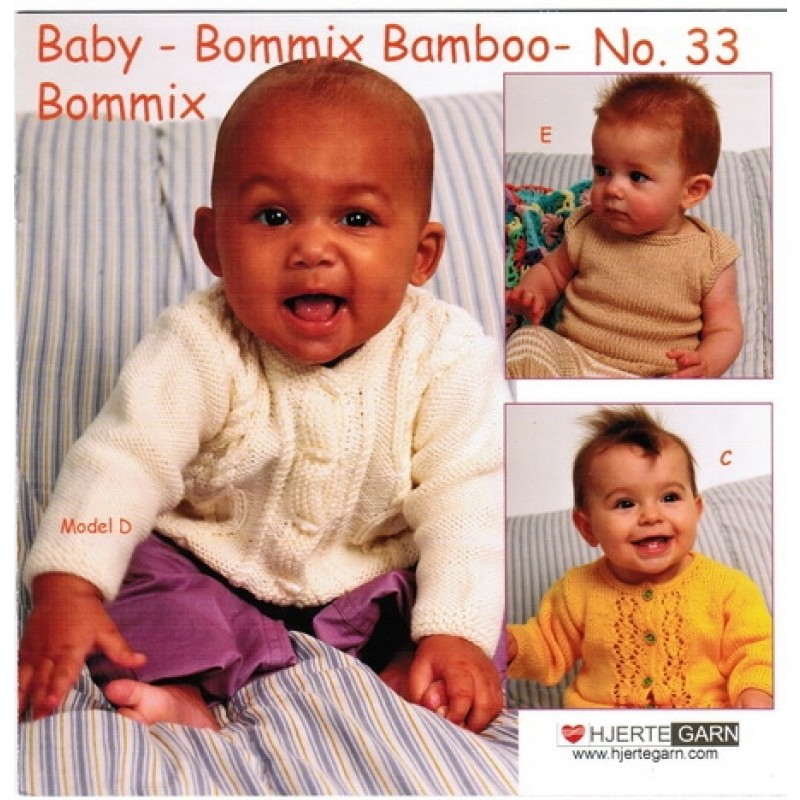 Hæfte Baby no. 33 Bommix/Bommix Bamboo-33