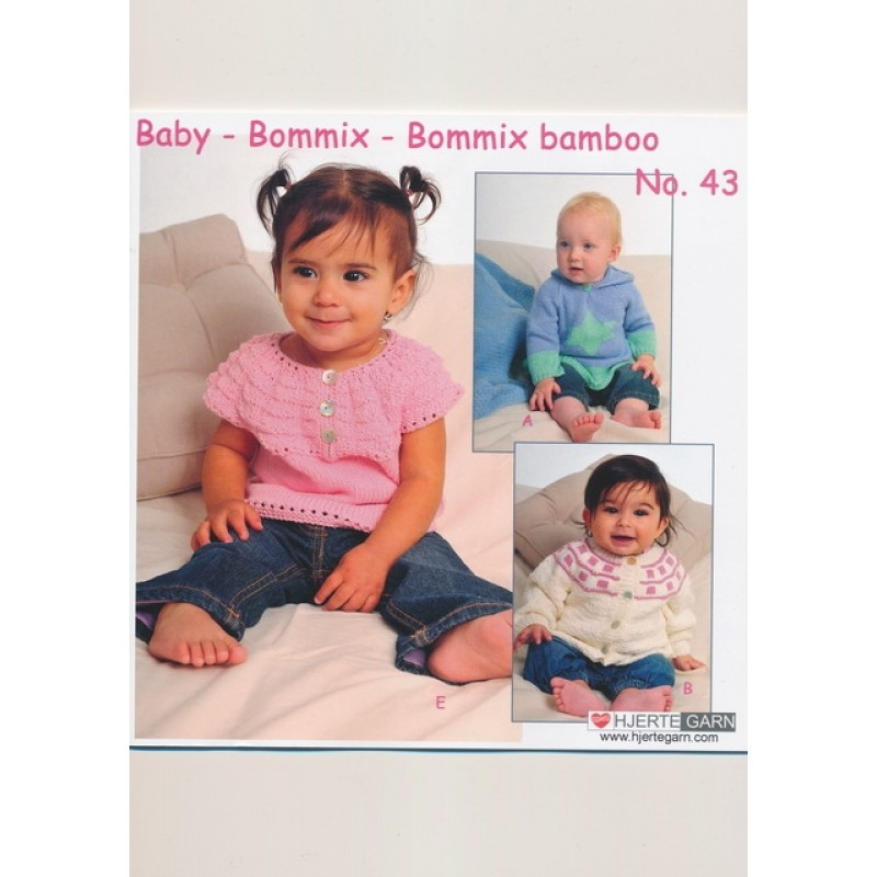 Hæfte baby no. 43 Bommix/Bommix Bamboo