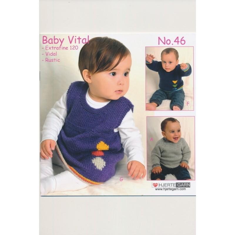 Hæfte baby no. 46 Vital/Vidal Alpaca-06