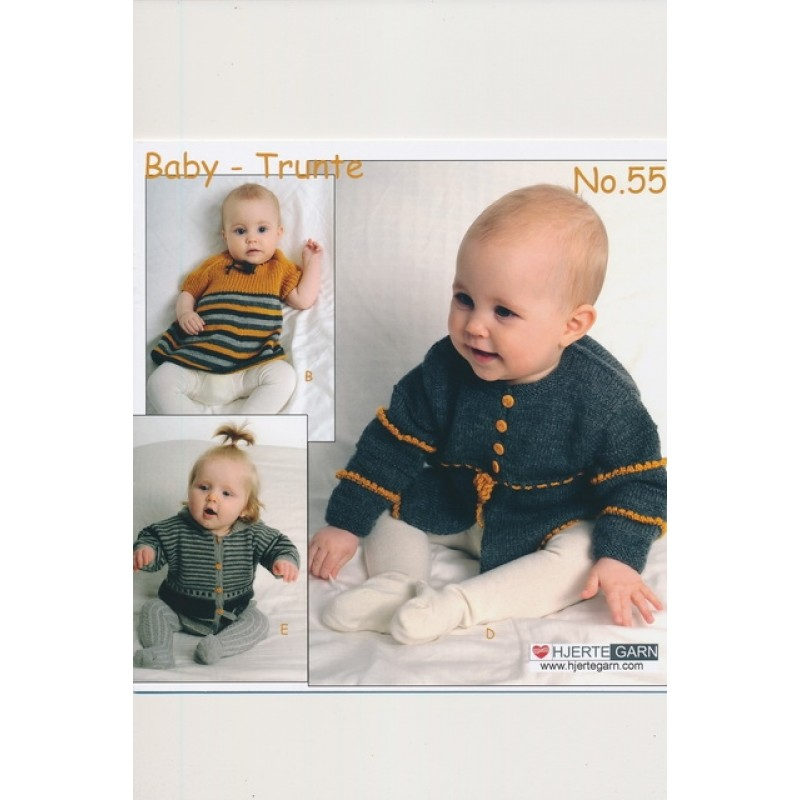 Hæfte Baby no. 55 Trunte/Blend/Blend Bamboo