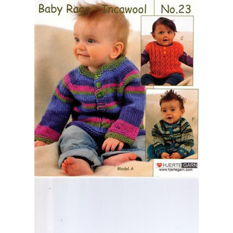 Hæfte baby no. 23 Ragg/Incawool-31