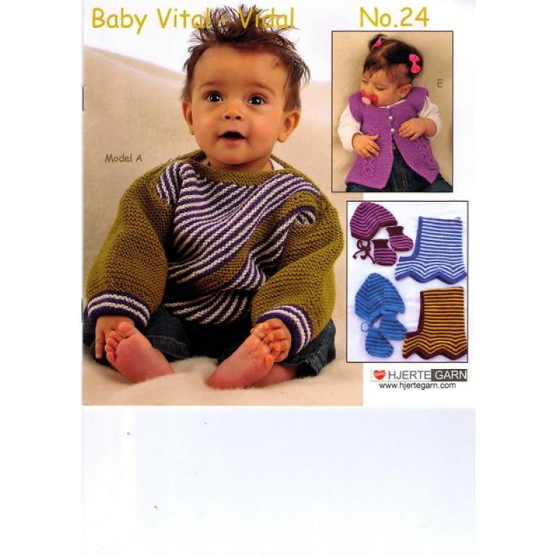 Hæfte baby no. 24 Vital/Vidal Alpaca-31