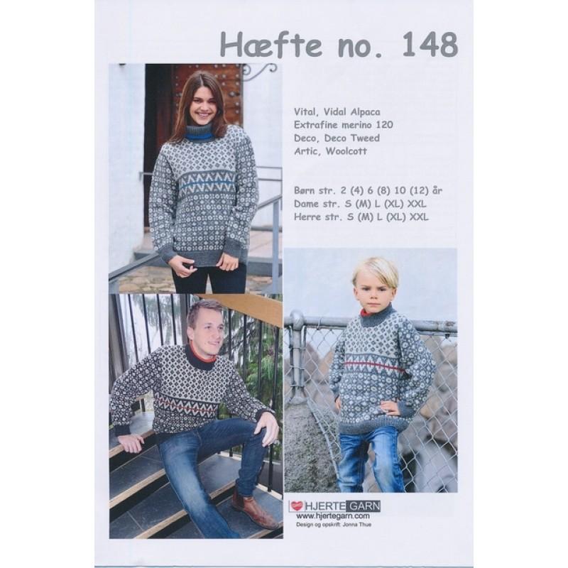 Hæfte 148 Sweater Børn/Herre/Dame-31
