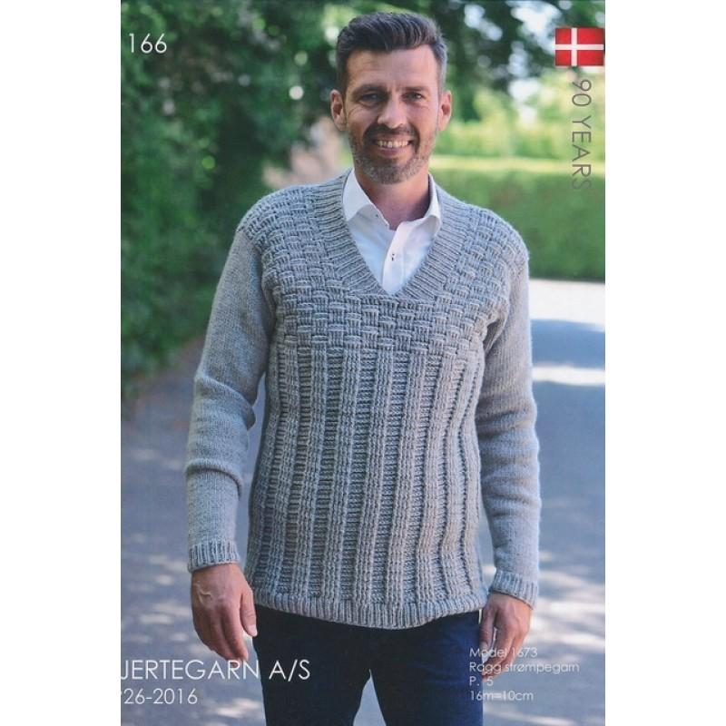Hæfte 166 Herre sweater 3 stk-36