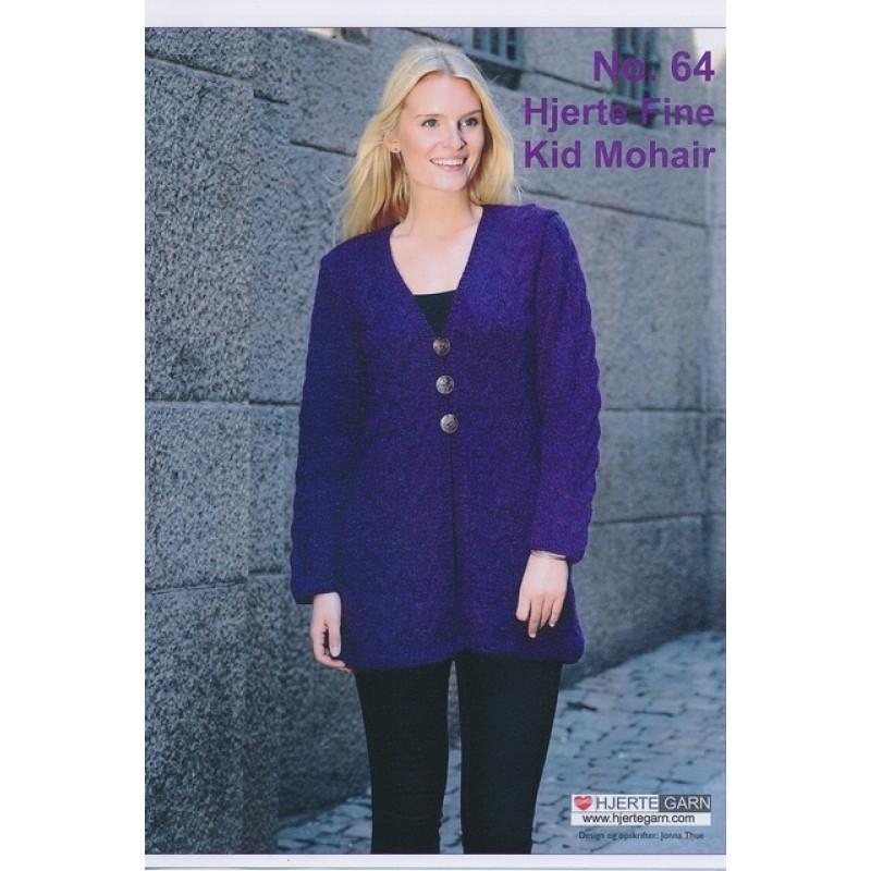 Tilbehør no. 64 Hjerte Fine/Kid Mohair 2 modeller-31