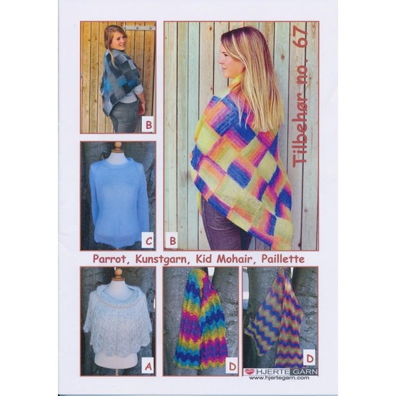 Tilbehør no. 67 sjal/tørklæde/sweater