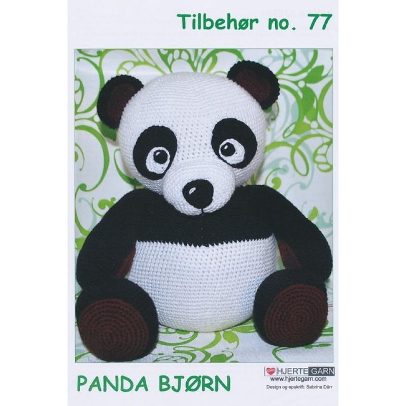 Tilbehør no. 77 Panda bjørn-31