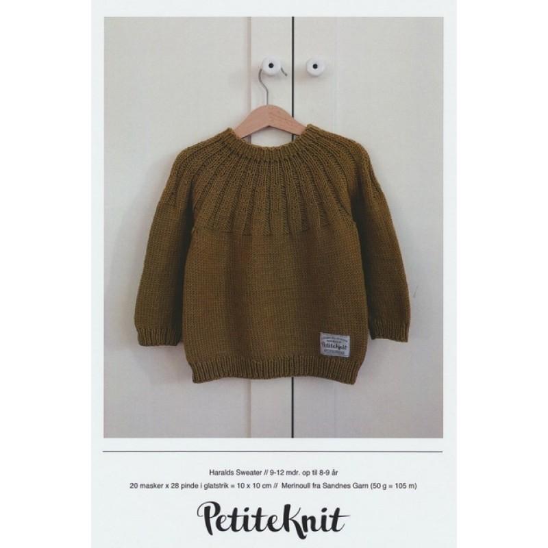 Haralds Sweater PetiteKnit strikkeopskrift-014