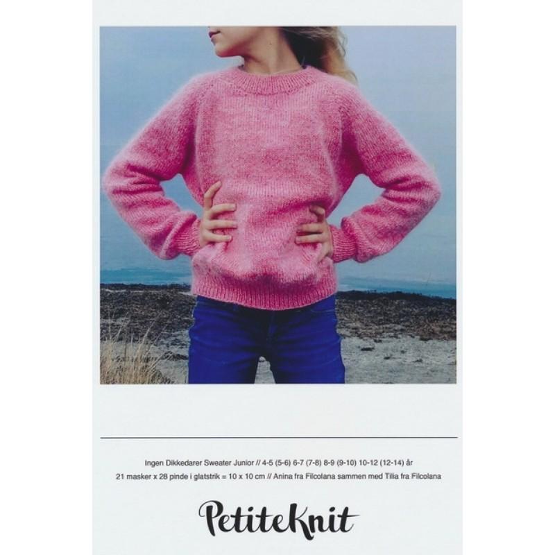 Ingen Dikkedarer sweater junior PetiteKnit strikkeopskrift-06
