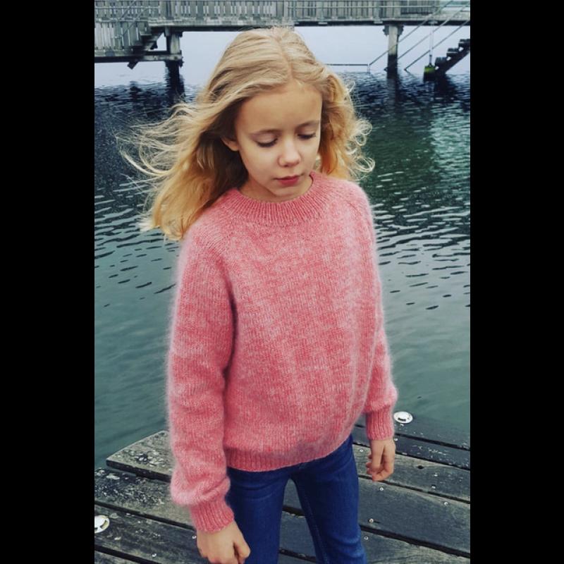 Ingen Dikkedarer sweater junior PetiteKnit strikkeopskrift-36