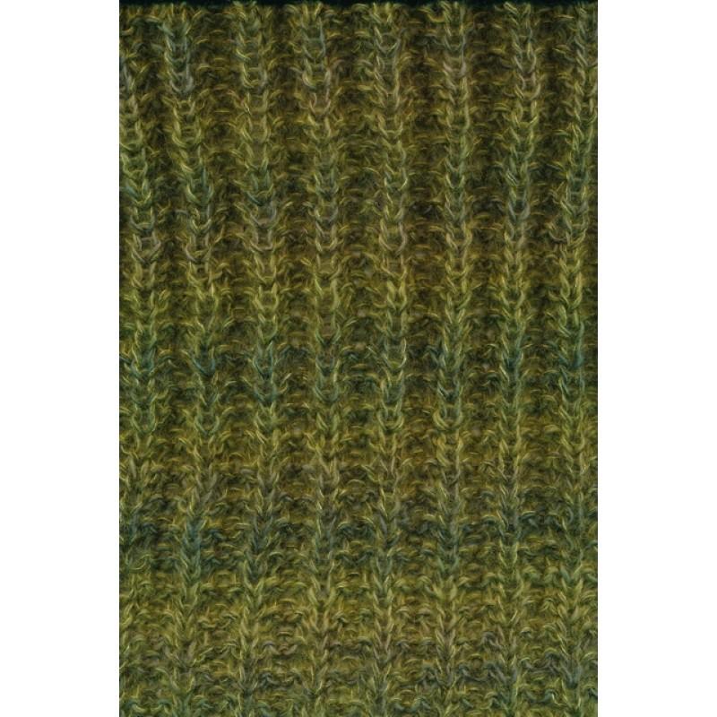 Halstørklæde i 3 tråde på p. 10