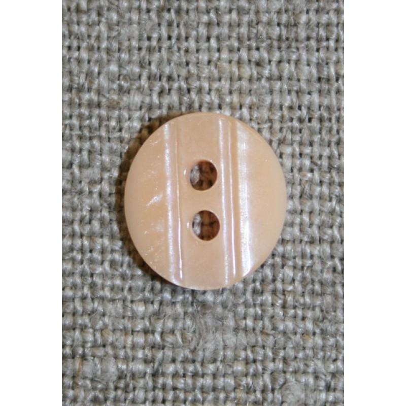Lille knap m/rille 11 mm. laks-31