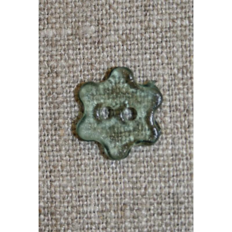 Grøn klar blomster-knap-33