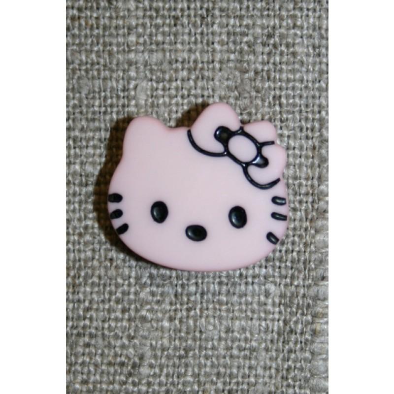 Knap Hello Kitty, babylyserød-31