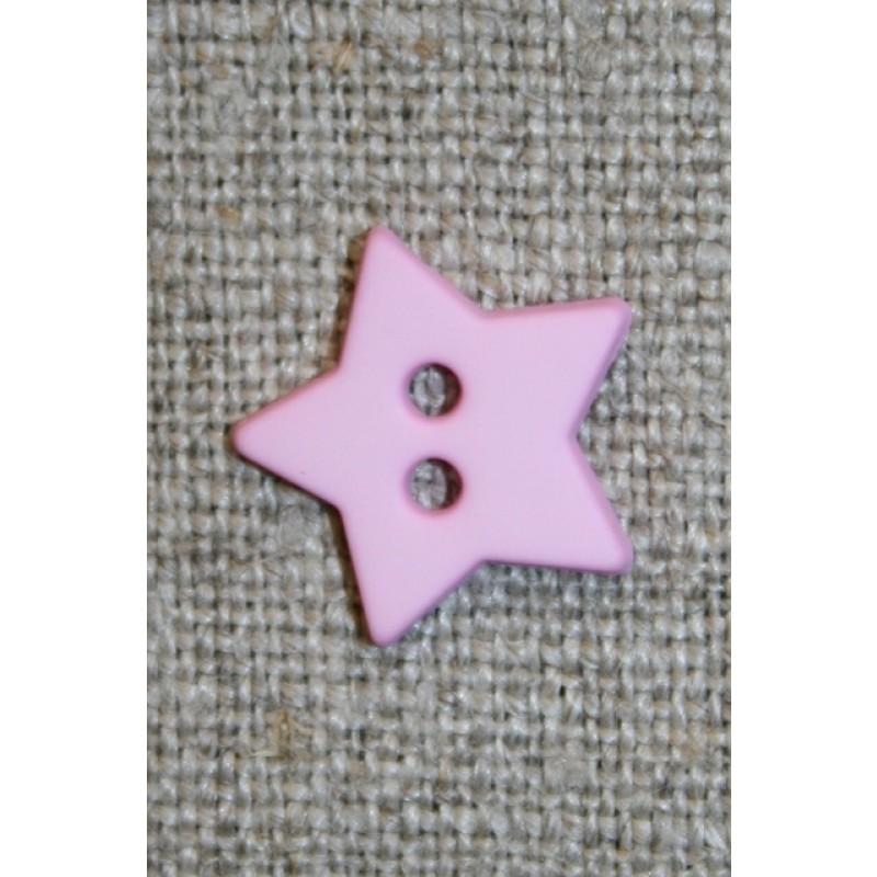 Knap stjerne , lyserød-31