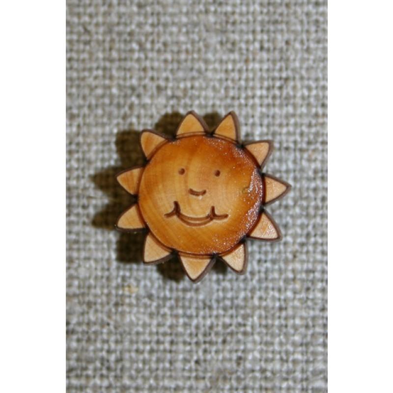 Træknap m/øje, sol-33