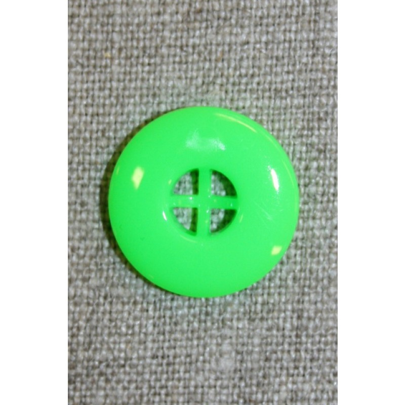 Neon knap grøn, 20 mm.-33