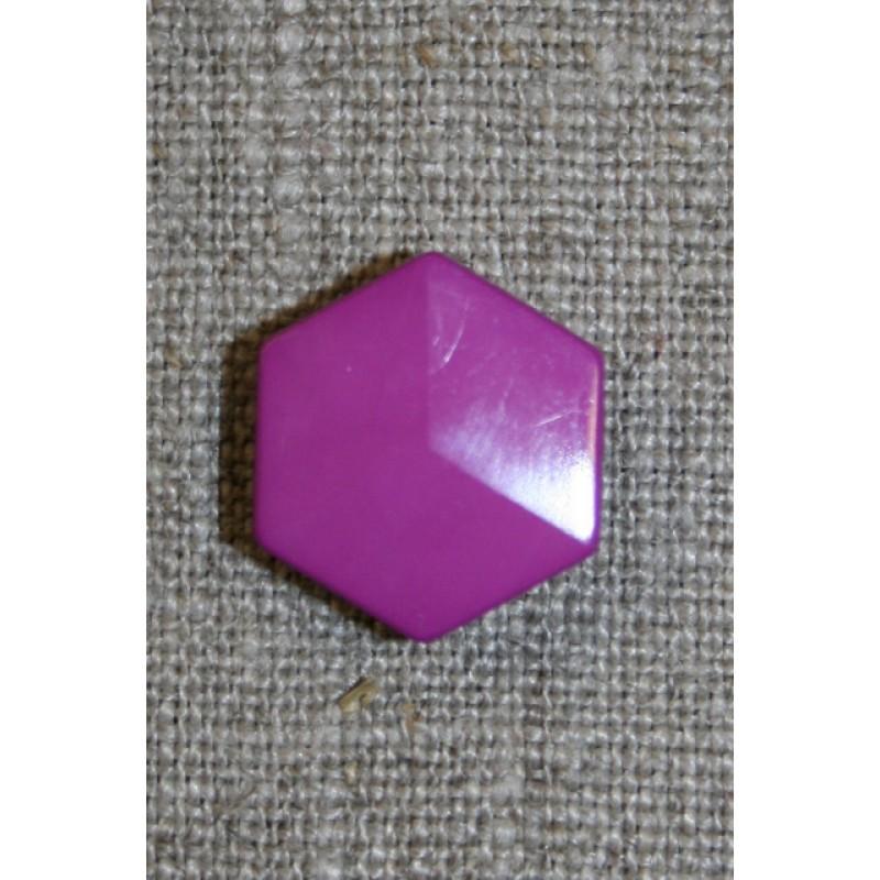 6-kantet knap, cerisse-35