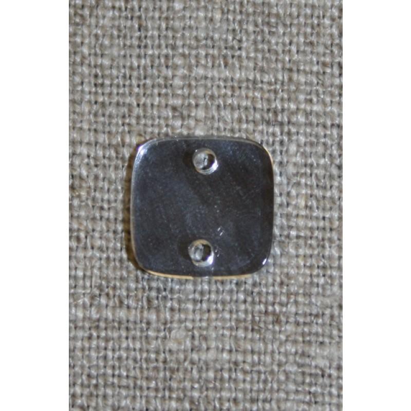 Pyntespejl firkantet, 15 mm.