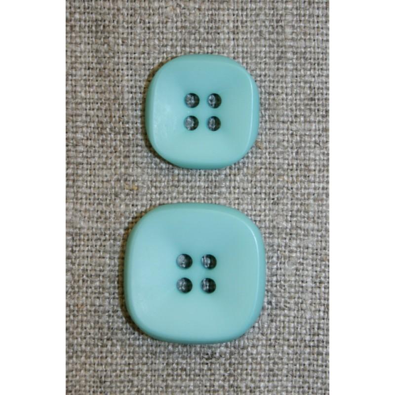 Firkantet 4-huls knap 23 mm. mint-33