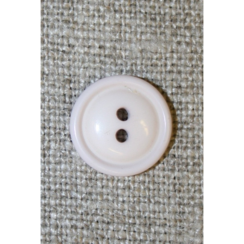 2-huls knap sart lyselilla, 11 mm.