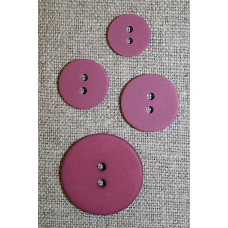 Cerisse 2-huls knap, 15 mm.