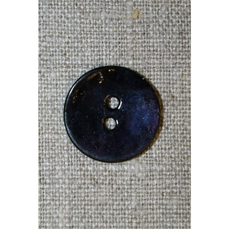 Perlemorsknapmrkebl20mm-35