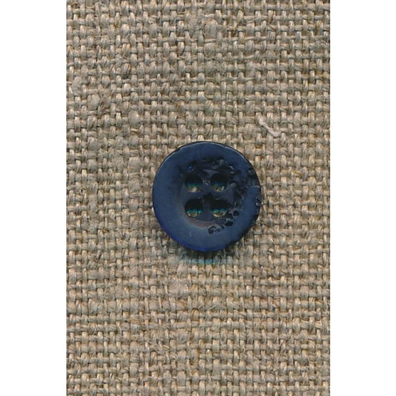 """Mørkeblå """"krakeleret"""" 11 mm.-31"""