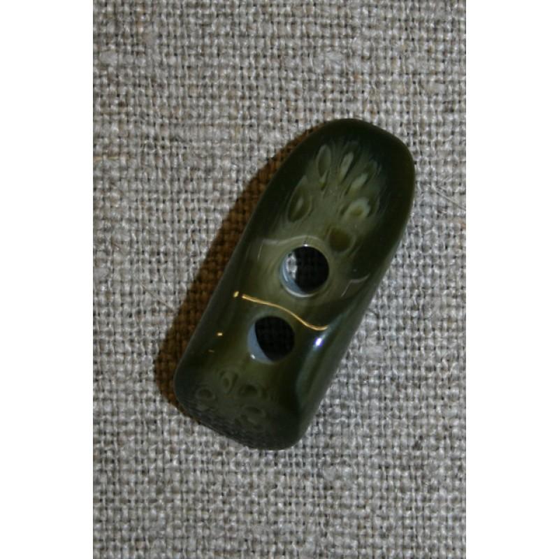 Knap pind imiteret horn, army-35