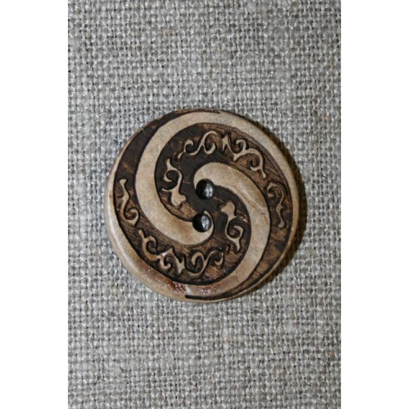 Træknap m/spiral 25 mm.-35