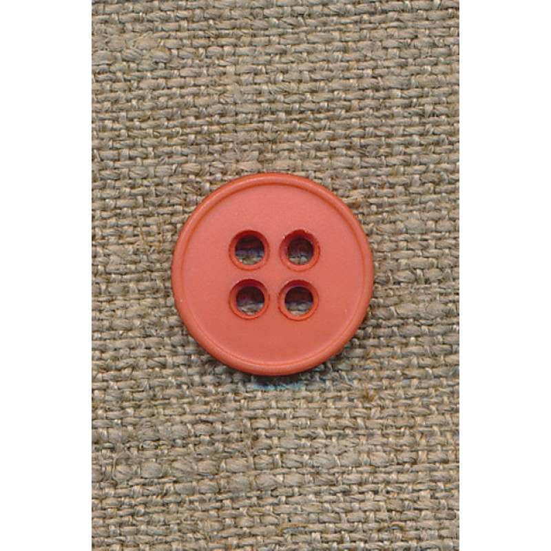Melon 4-huls knap, 15 mm.
