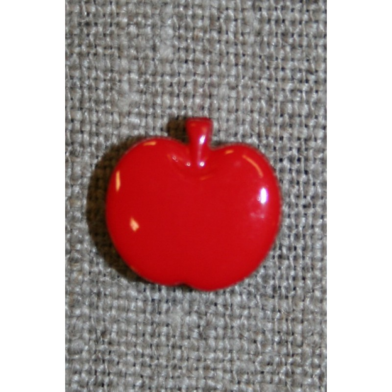 Knap m/rødt æble-31