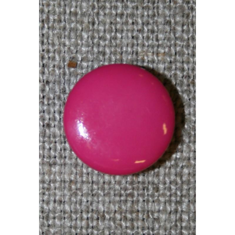 Rund knap 13 mm. pink-31