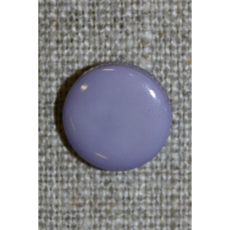 Rund knap 13 mm. lyselilla-35