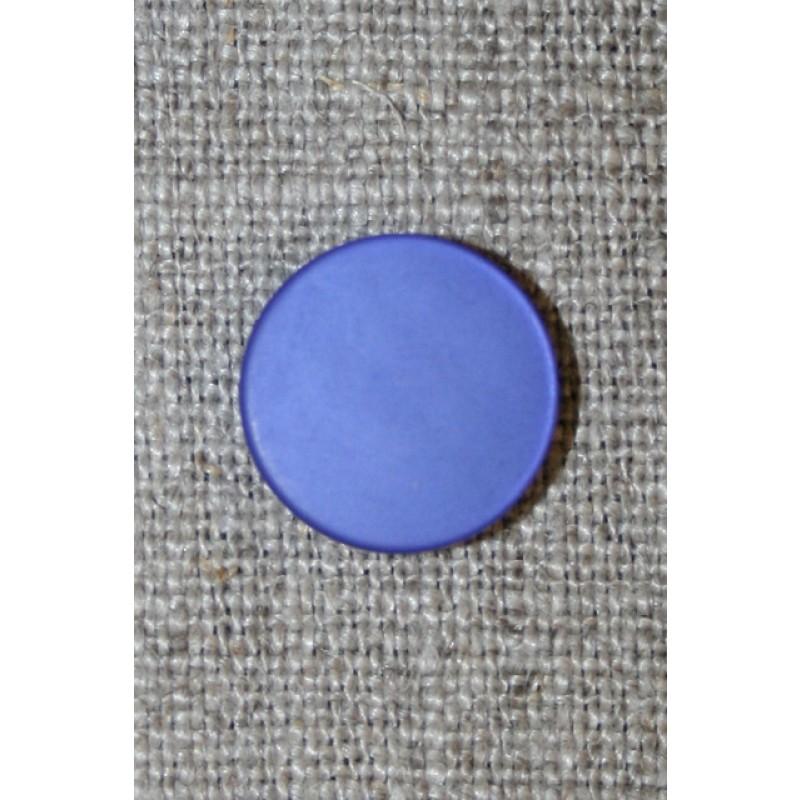 Rund knap lavendel/lilla, 20 mm.
