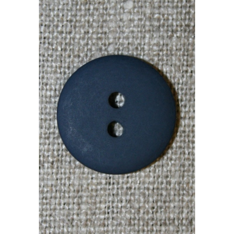 2-huls knap mørkeblå 18 mm.-33