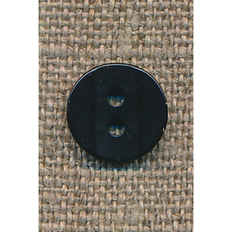 2-huls knap sort 12 mm.-33