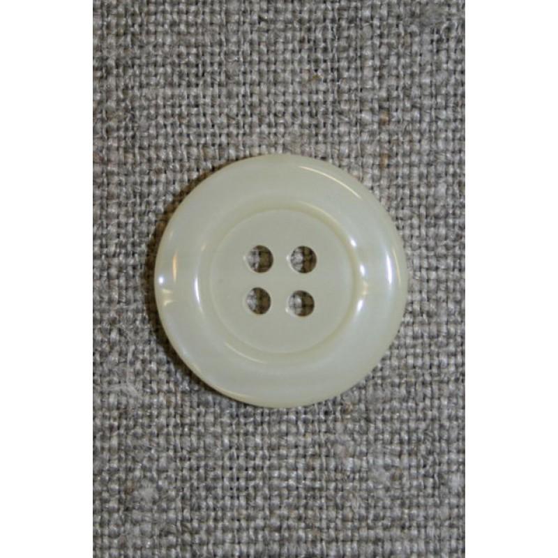 Off-white blank 4-huls-knap