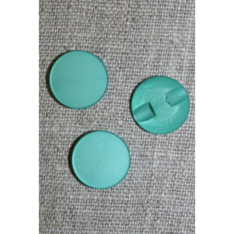 Rund knap 15 mm. lys irgrøn-33