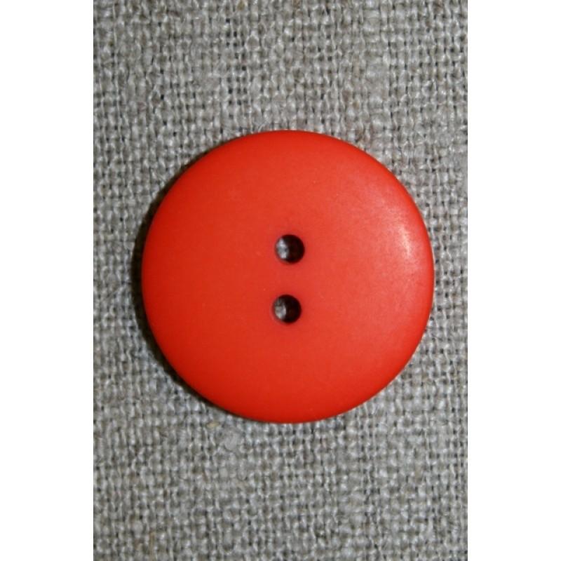 2-huls knap orange, 23 mm.-31