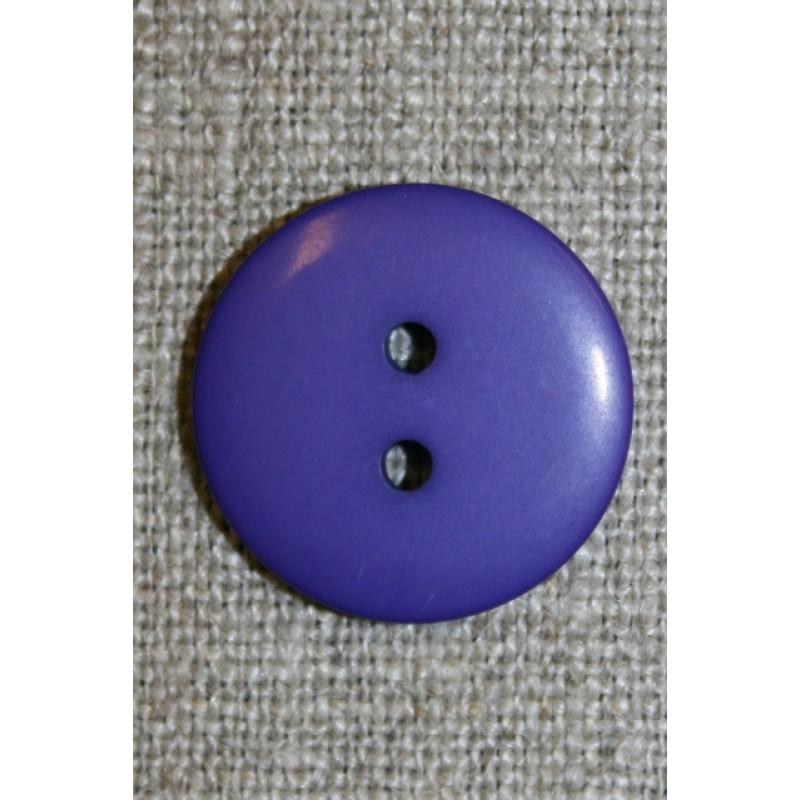 2-huls knap lilla, 20 mm.-31