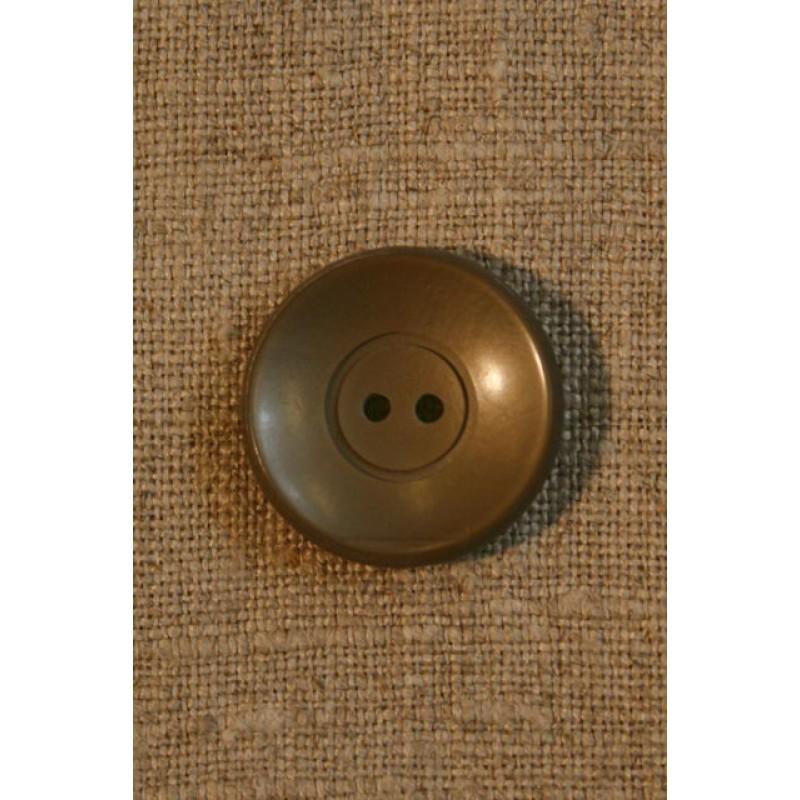Grå-brun knap 22 mm-33