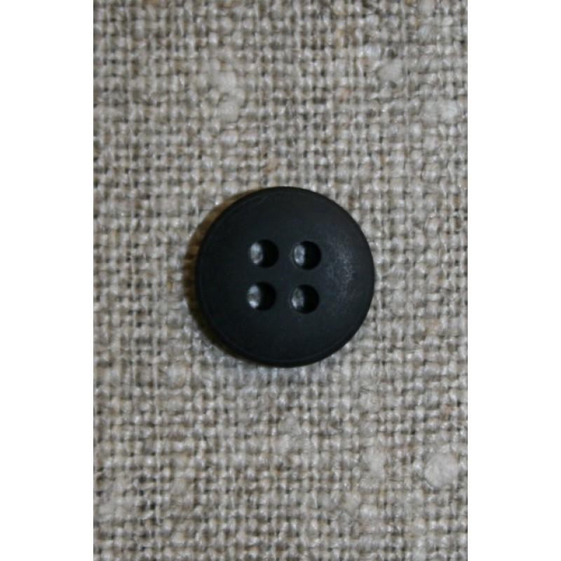Sort 4 huls knap 10 mm-31